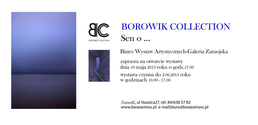 zaproszenie Borowik