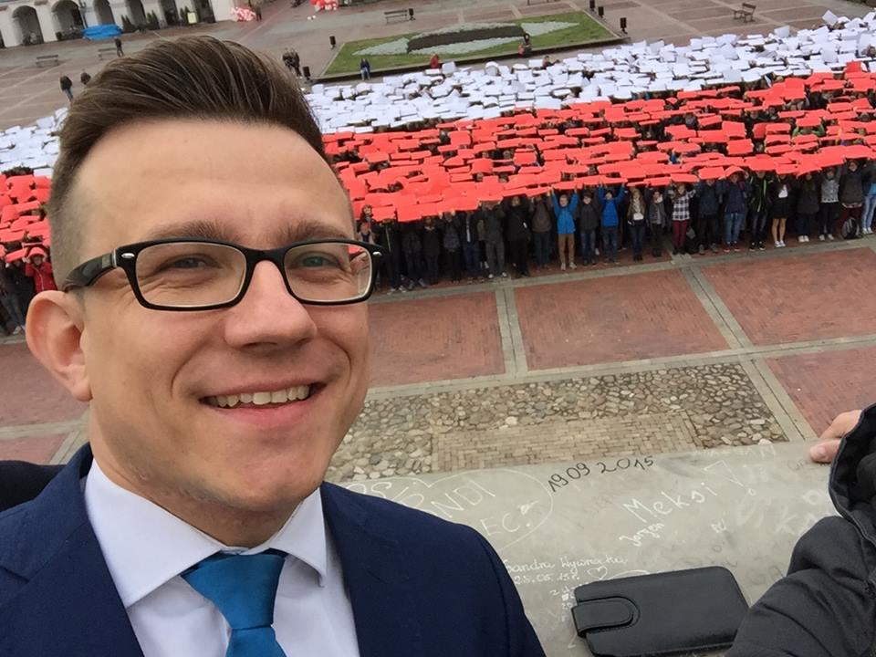 flaga na rynku 3, fot. Paweł Biedula