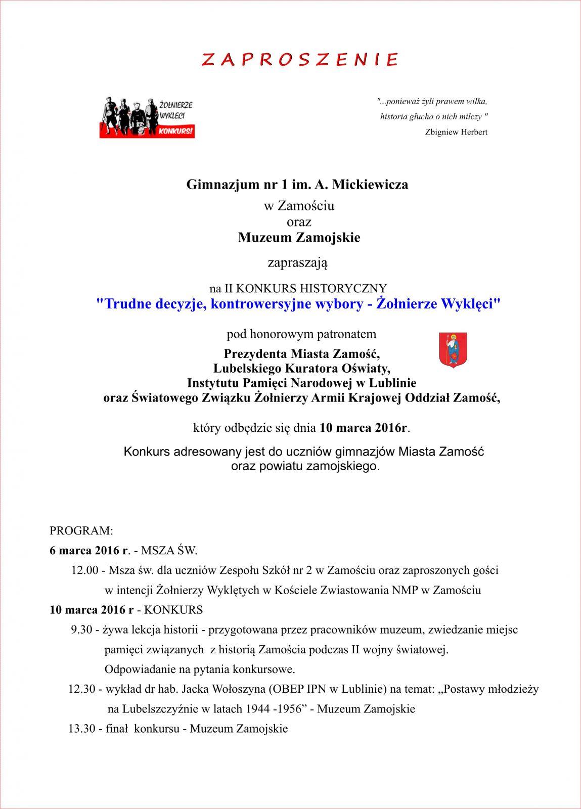 zaproszenie - media 1