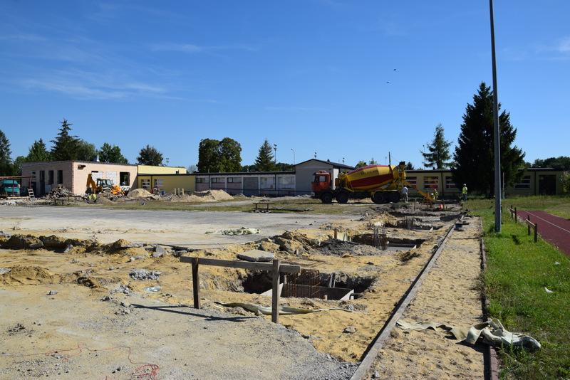 Ruszyła budowa hali sportowej na terenie OSiR Zamość, fot. UM Zamość