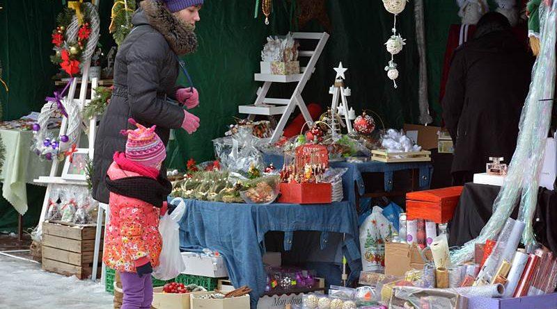 Jarmark Świąteczny na Rynku Wielkim w Zamościu