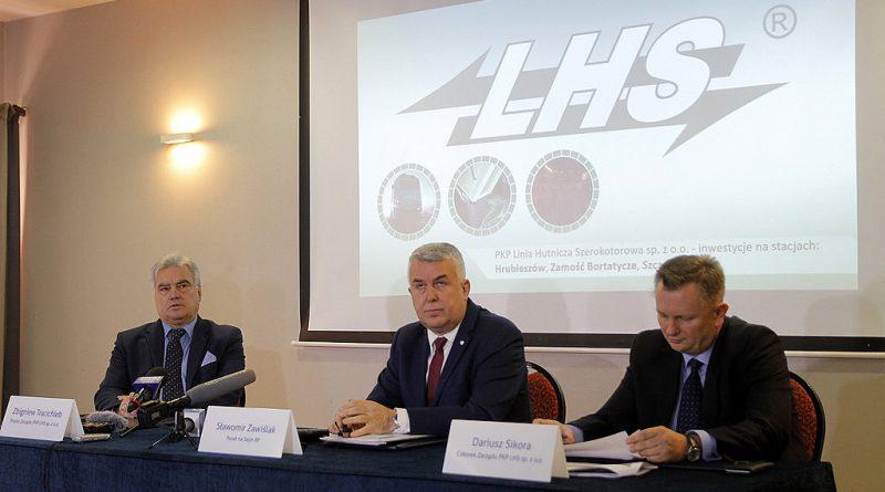 Więcej infrastruktury LHS PKP dla Zamojszczyzny