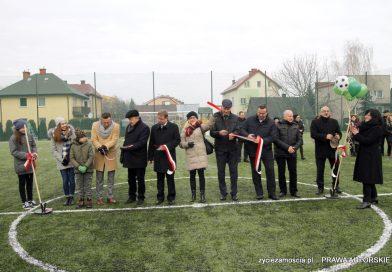 Marzenia się spełniają… nowe boisko sportowe w Zespole Szkół nr 3