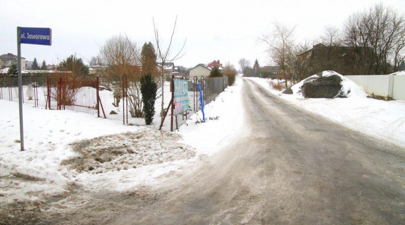 Nowa ulica Jaworowa