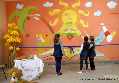 Mural w Szkole Podstawowej nr.2