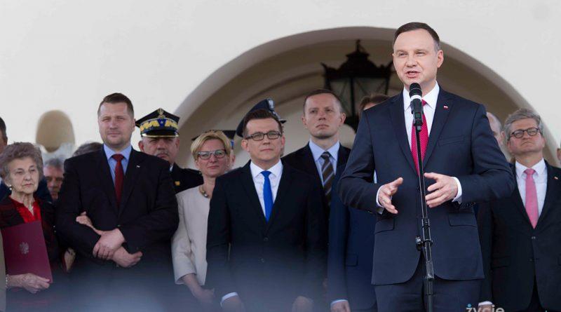 Prezydent Andrzej Duda w Zamościu – przemówienie z okazji Święta Straży Granicznej