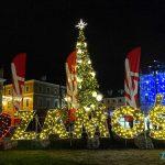 Świąteczne iluminacje już na Mikołaja
