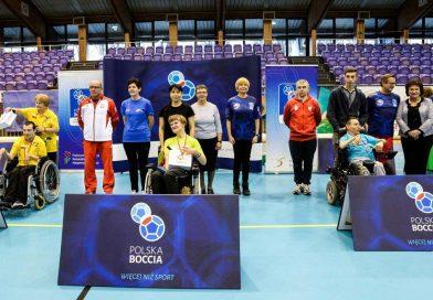 Mistrzostwa Polski w Bocci' Głogów 2017 AKSON z medalami