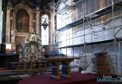 Zamość – Remont prezbiterium w Katedrze Zamojskiej