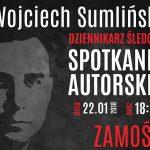 Wojciech Sumliński w Zamościu oraz promocja nowych książek
