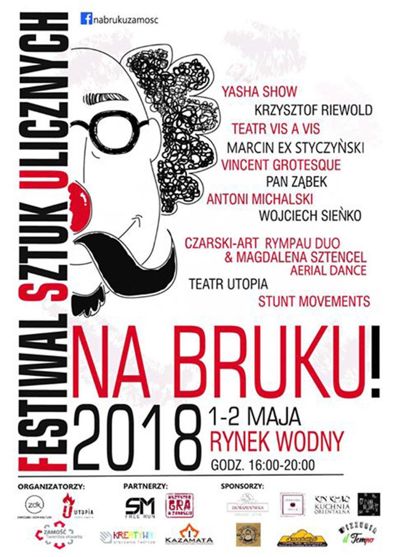 Festiwal Sztuk Ulicznych Na Bruku życie Zamościa