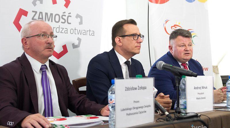 Zamość gospodarzem Mistrzostw Europy w Podnoszeniu Ciężarów U20 i U23