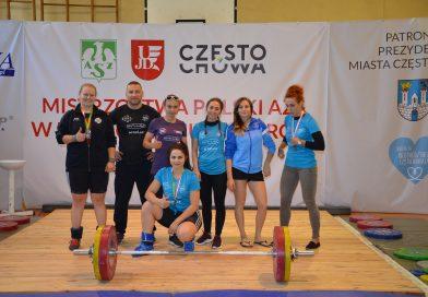 Sztangistki mistrzyniami Polski