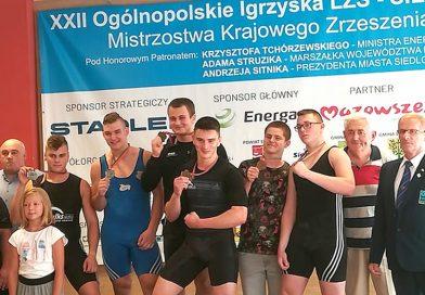 Igrzyskowe medale zawodników Agrosu