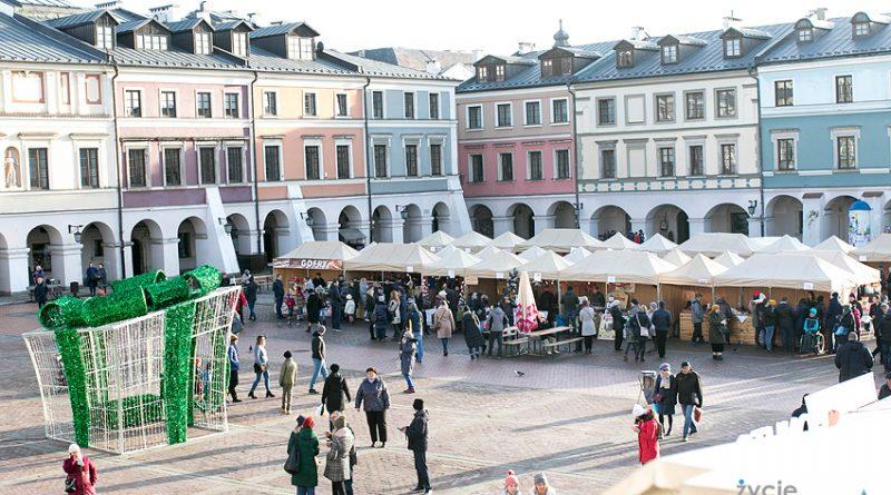 Jarmark świąteczny i najlepsze pierniczki w Zamościu