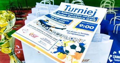 Turniej w halowej piłce nożnej o Puchar Dyrektor OSiR w Zamościu