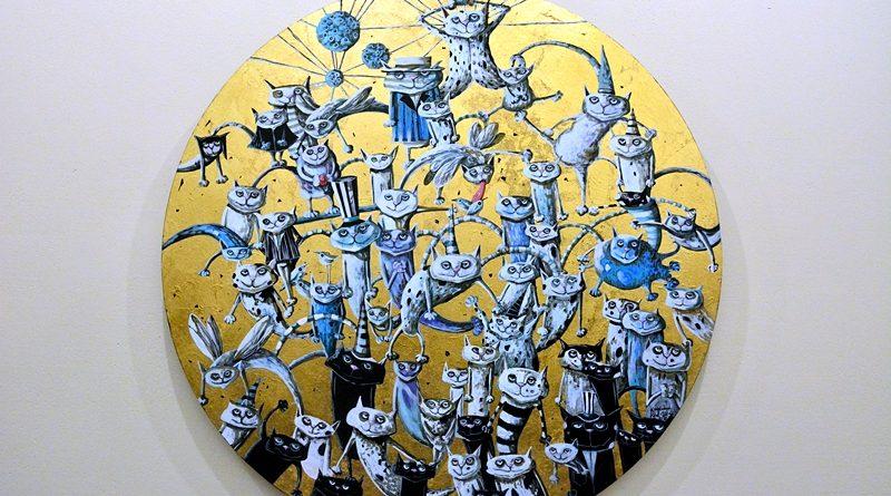 Droga mleczna na wystawie w Arte Hotel