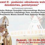 """""""Jan Paweł II - posłaniec odrodzenia wolności, dziedzictwa, patriotyzmu"""""""
