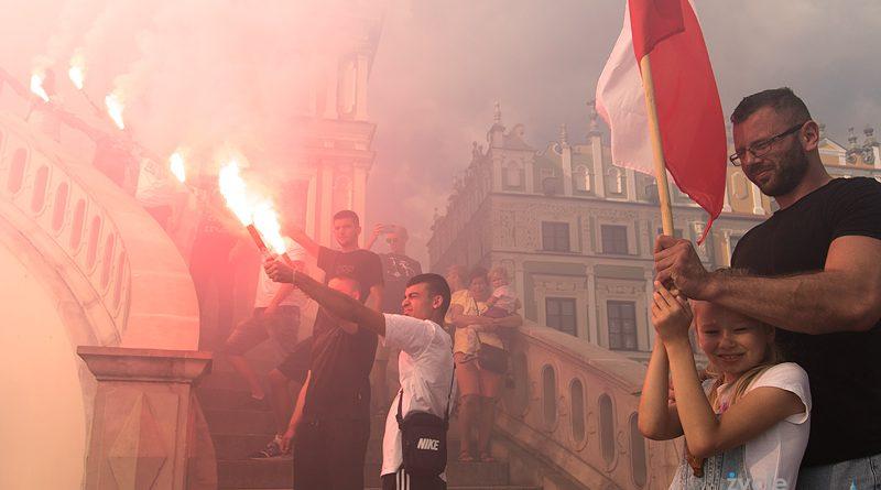 76 lat od wybuchu Powstania Warszawskiego – uroczystości na Rynku Wielkim