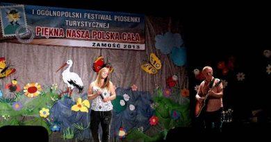 03-04.06.2013 r I Ogólnopolski Festiwal Piosenki Turystycznej w Zamościu.