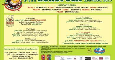 16.07.2013 r. XII EUROFOLK Zamość 2013