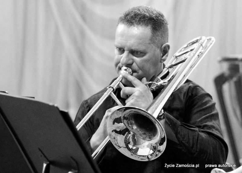 28 marca 2014 r. Koncert ArtBrass Ensemble w Zamojskiej Orkiestrze.
