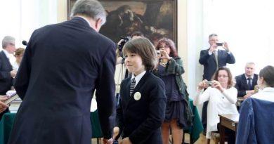 Prezydent Marcin Zamoyski nagrodził najlepszych uczniów zamojskich szkół  –  16.06.2014 r.