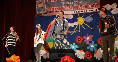 """2-3 czerwca 2014 r. II OGÓLNOPOLSKI  FESTIWAL PIOSENKI TURYSTYCZNEJ """"PIĘKNA NASZA POLSKA CAŁA"""""""