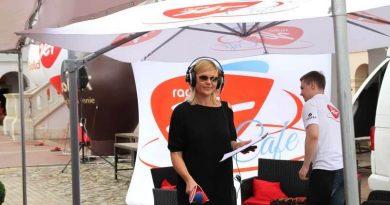 """Radia Zet z programem """"ZET Cafe"""" w Zamościu 12.07.2014"""