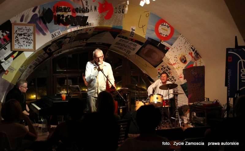 """Jazz Festiwal """"New Cooperation""""  – Zamość 2014 Gwiazda wieczoru Kszesimir Dębski 25.07.2014"""
