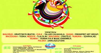 XIII Eurofolk – Zamość 2014 – Program