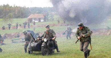 Rekonstrukcja Bitew pod Tomaszowem Lubelskim 1939 / 2014    21.09.2014