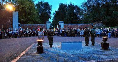 Uroczystości upamiętniające rocznicę wybuchu II Wojny Światowej – Zamość, 01.09.2014 r.
