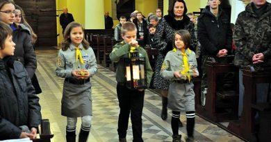 Betlejemskie Światło Pokoju w Zamościu – 19.12.2014 r.