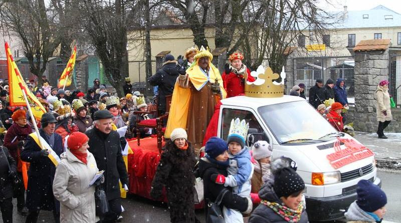 Orszak Trzech Króli po raz pierwszy w Zamościu – 6.01.2015