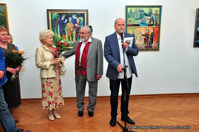 Wystawa malarska Franciszka Maśluszczaka – BWA Galeria Zamojska, 15.05.2015 r.