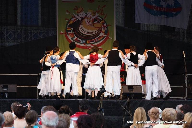 """""""EUROFOLK – Zamość 2015″ XIV Międzynarodowy Festiwal Folklorystyczny – dzień piąty"""
