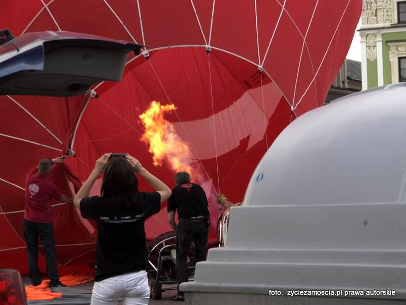 Balony nad Twierdzą Zamojską – 2 sierpnia 2015