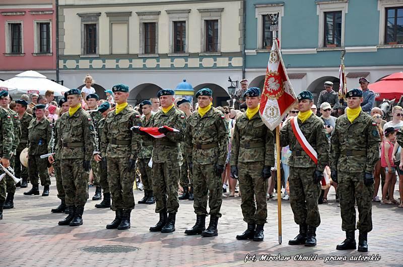 Święto Wojska Polskiego w Zamościu – 15 sierpnia 2015