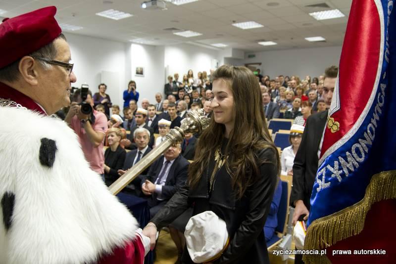 Inauguracja roku akademickiego 2015/2016 w PWSZ im. Szymona Szymonowica w Zamościu