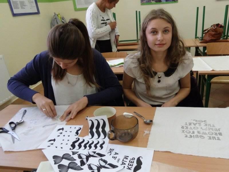 Kreatywne warsztaty w ZSP Nr 5