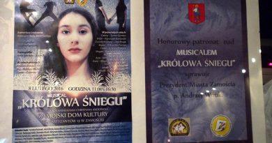 "Musical ""Królowa Śniegu"""