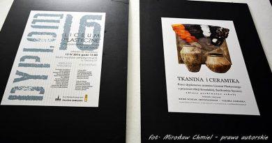 Dyplom 2016 w BWA Galeria Zamojska