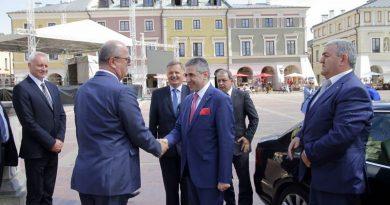 Wizyta Ambasadora Armenii w Zamościu