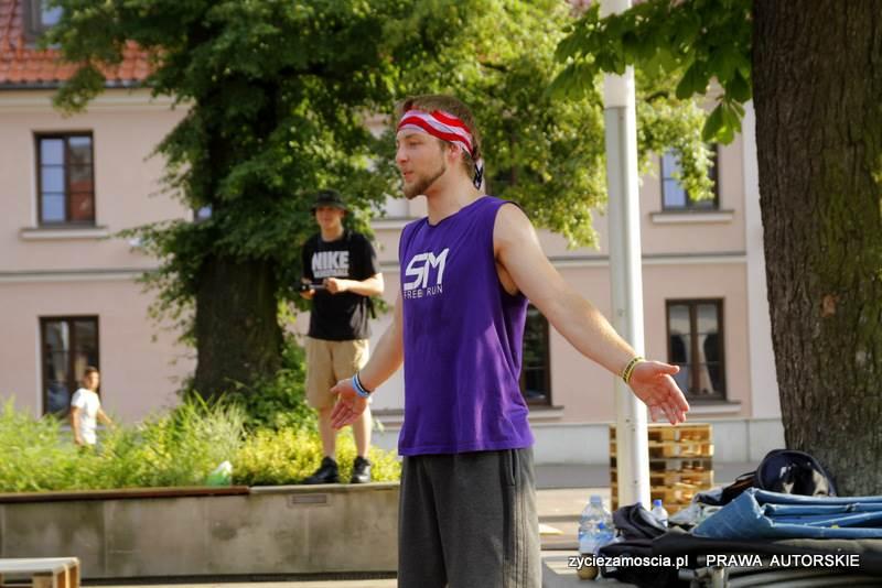 Pokaz akrobatyczny i warsztaty grupy SM Free Run