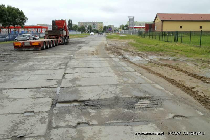 Budowa ulicy Kresowej w Zamościu