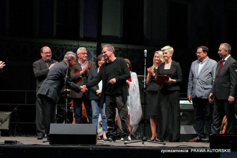 """Gala Finałowa 4. Zamojskiego Festiwalu Filmowego """"Spotkania z historią""""  i koncert Ani Dąbrowskiej"""