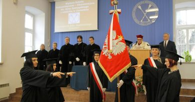 Inaugurację roku akademickiego WSHE Zamość