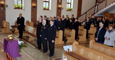 Modlitwa za zmarłych strażaków