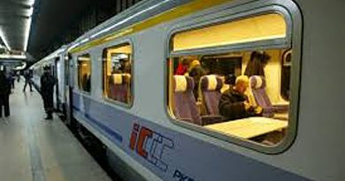 Pociąg PKP Intercity do Zamościa